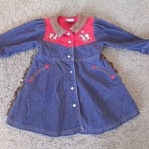 Le Top Dress Western Pony 2 toddler